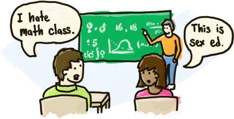 The mathmatics of cunnilingus comic