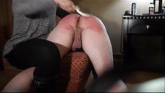 Femdom spanking guy